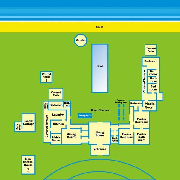Nelson Gay Villa Floor Plan